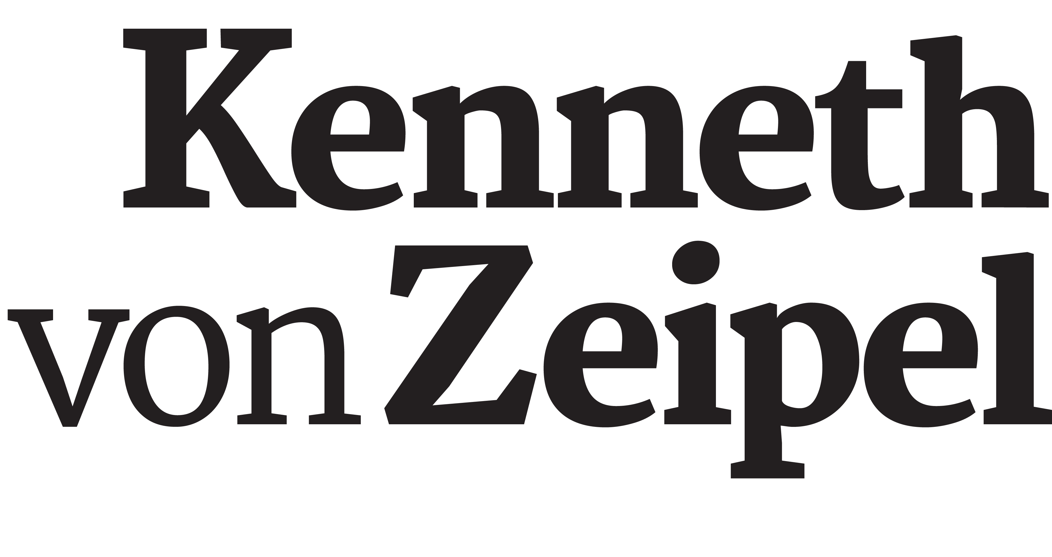 Kenneth von Zeipel